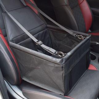 ペット ドライブ シート 犬 車 カバー カーシート メッシュ 助手席 ブラック(犬)