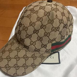 Gucci - 【美品!】GUCCI キャップ 帽子 ベースボールキャップ