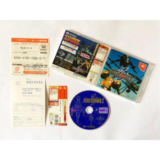 SEGA - ドリームキャスト ゼロガンナー2 帯ハガキあり Dreamcast DC