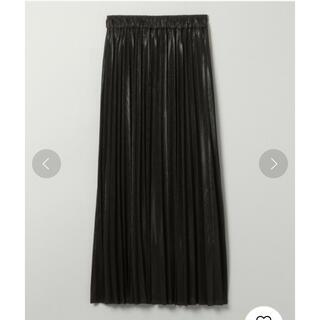 JEANASIS - 【未使用】JEANASIS グリッタープリーツロングスカート