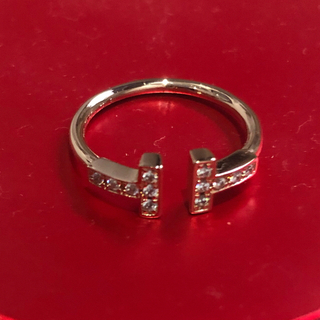 Tiffany & Co. - TIFFANY&Co. ティファニーT ダイヤモンドワイヤーリング