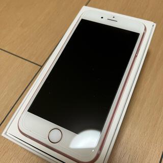 iPhone - iPhone 6s 32GB ローズピンク SIMロック解除済み SIMフリー