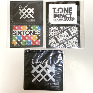 SixTONES ステッカー3枚 + 絆創膏