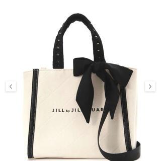 ジルバイジルスチュアート(JILL by JILLSTUART)のジルバイジルスチュアート トリミングハンドルバッグ(大)(トートバッグ)