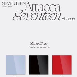 SEVENTEEN - seventeen attacca 未開封セット