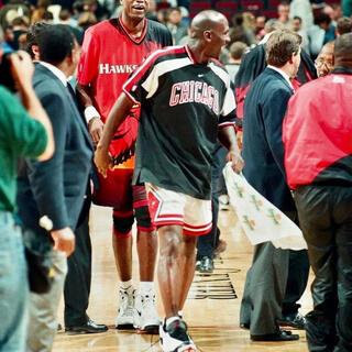 NIKE - ナイキ NIKE NBA CHICAGO BULLS 90sシューティングシャツ