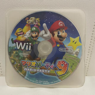 Wii - マリオパーティ 9 wii ソフト カセット