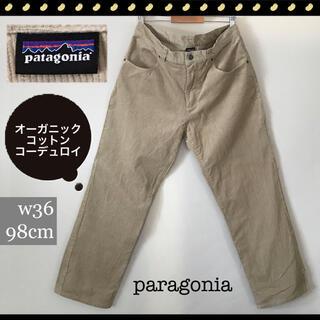 patagonia - パタゴニア★オーガニックコットン★コーデュロイ★5ポケットパンツw36/98cm