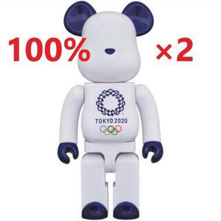 2体セット ベアブリック 東京オリンピック 100%×2(その他)