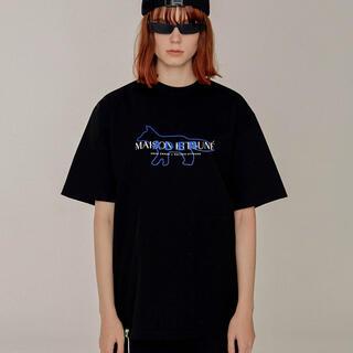 MAISON KITSUNE' - adererror キツネコラボTシャツ A2