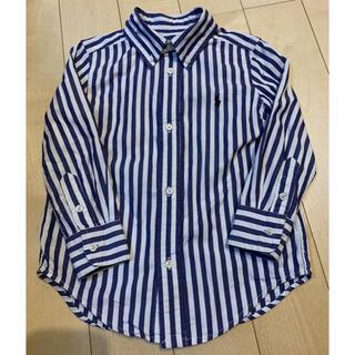Ralph Lauren - ラルフローレン ストライプシャツ 100サイズ ⭐︎ USED