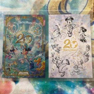 Disney - ディズニー 20周年 ポストカード