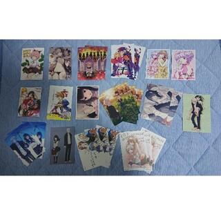 カドカワショテン(角川書店)の各種コミックの特典ポストカーード・イラストカード(その他)
