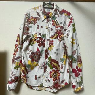JOURNAL STANDARD - ジャーナルスタンダード 長袖シャツ 綿100% L インド製 しあわせのお花柄