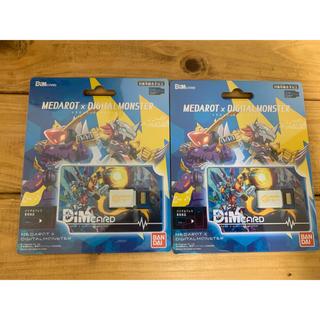 BANDAI - デジモン バイタルブレス Dimカード メダロット オメダモン 2枚セット
