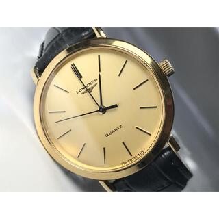 LONGINES - ★美品★LONGINES/ロンジン★アンティーク腕時計 ゴールドラウンドクオーツ