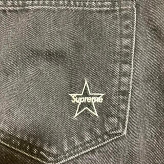 Supreme - supreme washed regular jeans 黒 30