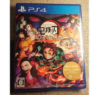 PlayStation4 -  新品未開封 鬼滅の刃 ヒノカミ血風譚 PS4 シュリンク付き