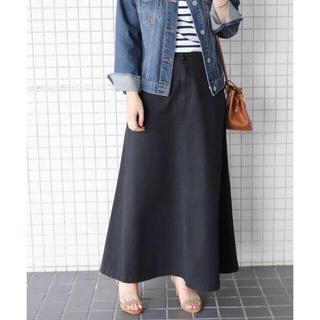 IENA SLOBE - スローブイエナ✩ バイオ加工マキシスカート