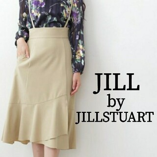 JILL by JILLSTUART - JILL by JILLSTUART イレヘムサス付きナロースカート