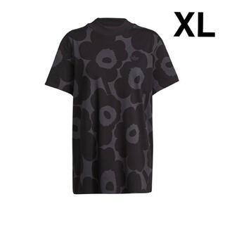 アディダス✖️マリメッコ コラボ 総柄Tシャツ XL