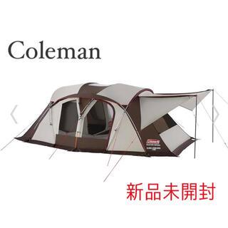 コールマン(Coleman)の最安 コールマン 4Sワイド2ルームカーブ 新品 未使用 Coleman(テント/タープ)