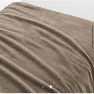 ムジルシリョウヒン(MUJI (無印良品))のあたたかファイバームレにくい厚手毛布 3枚セット 無印(毛布)