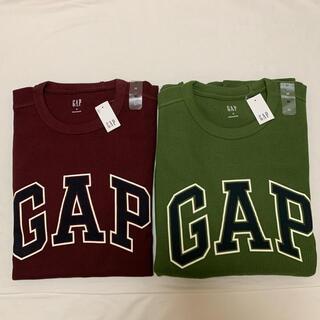 GAP - 新品 GAP ギャップ ワッフル生地 長袖 Tシャツ M 2点セット メンズ