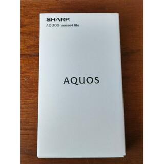 SHARP AQUOS sense4 lite 楽天版SIMフリー ブラック S