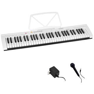 電子キーボード 61鍵盤 【新品、送料無料】(キーボード/シンセサイザー)