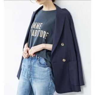 IENA - 【新品】2021SS ウールダブルブレストジャケットサイズ38
