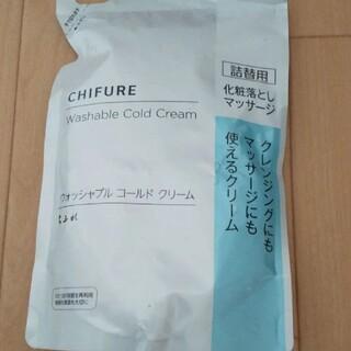 ちふれ - ちふれ 化粧落としマッサージウォッシャブルコールドクリーム詰め替え 300g