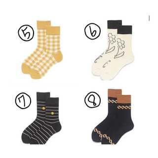 靴下 4足