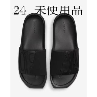NIKE - サンダル ジョーダン 24サイズ 黒