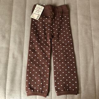 ムジルシリョウヒン(MUJI (無印良品))の新品未使用 無印良品 タイツ パンツ レギンス 80 90(靴下/タイツ)