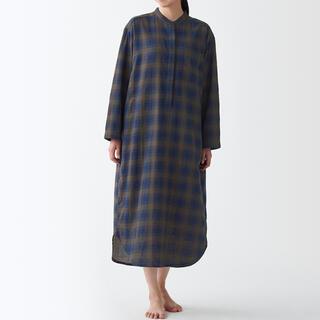 MUJI (無印良品) - 無印良品 インド綿 二重ガーゼクルタ