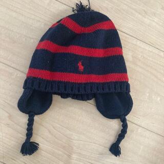 ポロラルフローレン(POLO RALPH LAUREN)のラルフローレン ニット帽 頭位45センチ(帽子)