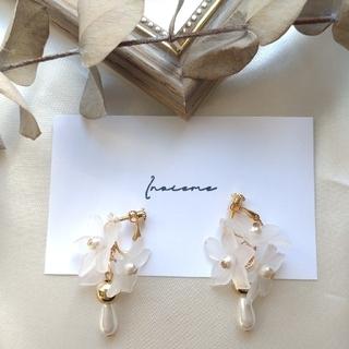 《No.33》【フラワー】earring♡