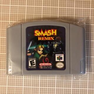 ニンテンドウ64(NINTENDO 64)のスマッシュリミックス Nintendo64(家庭用ゲームソフト)