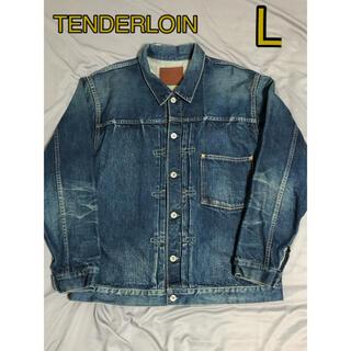 TENDERLOIN - tenderloin テンダーロイン 1st デニム ジャケット Gジャン L