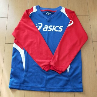 アシックス(asics)のAsics 長袖 プラシャツ 150(ウェア)