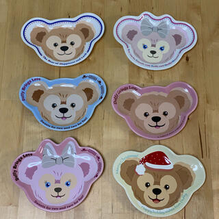 Disney - Disney ダッフィー スーベニアプレート 皿 6枚セット