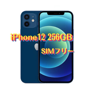 Apple - 最安値5G iPhone12 256GB Blue