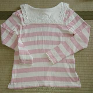 ニットプランナー(KP)のニットプランナー  KP 140 セーラーカラー 綿100%(Tシャツ/カットソー)