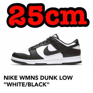 NIKE - NIKE WMNS DUNK LOW WHITE/BLACK 25cm