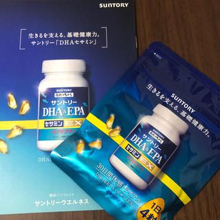 【新品未開封】サントリー自然のちから DHA&EPA+セサミンEX