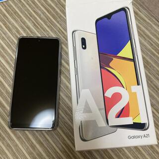ギャラクシー(Galaxy)のGALAXY   A21  スマートフォン(スマートフォン本体)