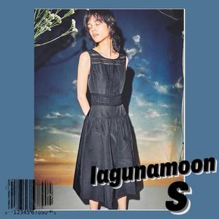 ラグナムーン(LagunaMoon)の[新品]lagunamoonドレスS(ミディアムドレス)