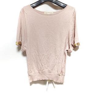 チェスティ(Chesty)のチェスティ 半袖セーター サイズF -(ニット/セーター)