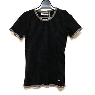 サルヴァトーレフェラガモ(Salvatore Ferragamo)のサルバトーレフェラガモ 半袖セーター S -(ニット/セーター)